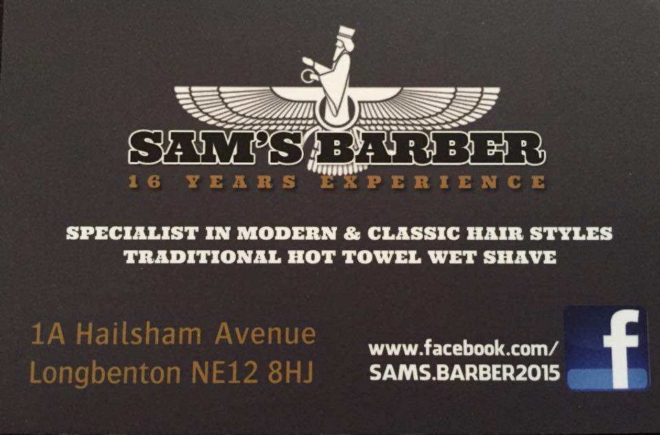Sam the Barbers Logo