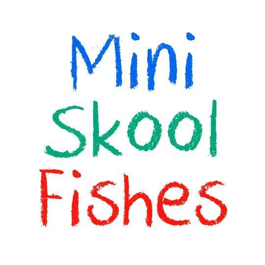 mini skool fishes logo