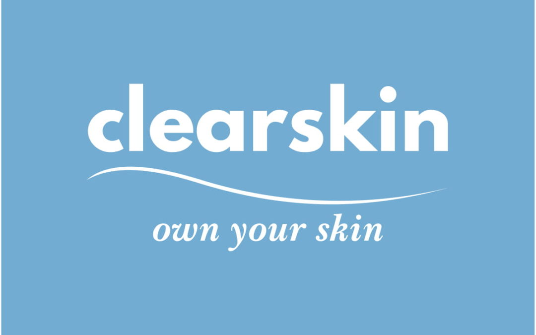 clear skin logo q card offer