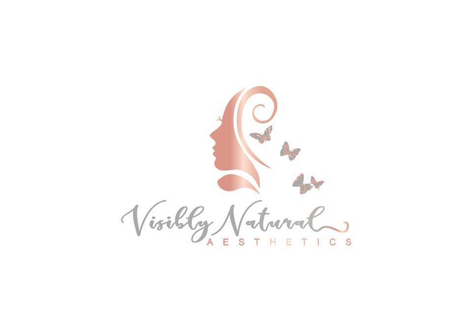 visibly natural aesthetics logo
